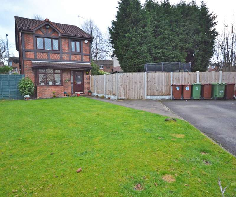 3 Bedrooms Detached House for sale in Parkinson Close, Wakefield
