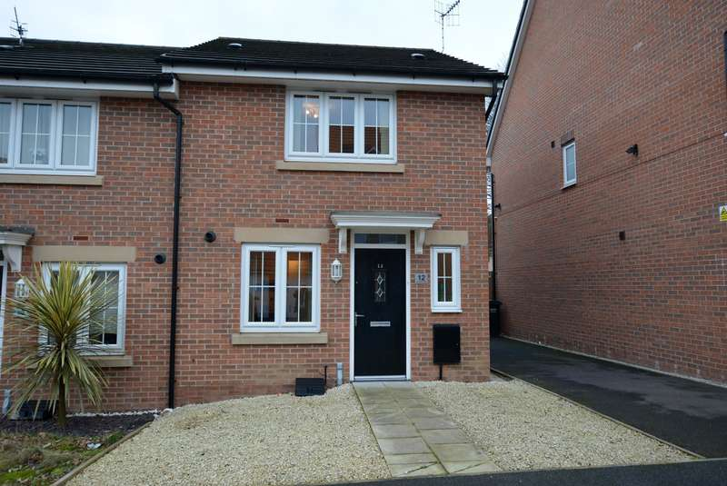 3 Bedrooms Town House for sale in Maudesley Avenue, The Spires, Chesterfield, S40