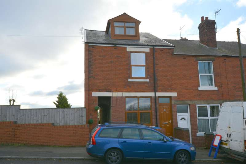 4 Bedrooms End Of Terrace House for sale in Worksop Road, Mastin Moor, Chesterfield, S43