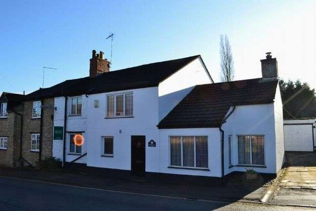 4 Bedrooms Semi Detached House for sale in High Street, Roade, Northampton NN7 2NW