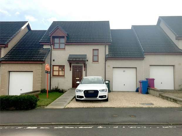 3 Bedrooms Terraced House for sale in 44 Bain Avenue, Elgin, Moray