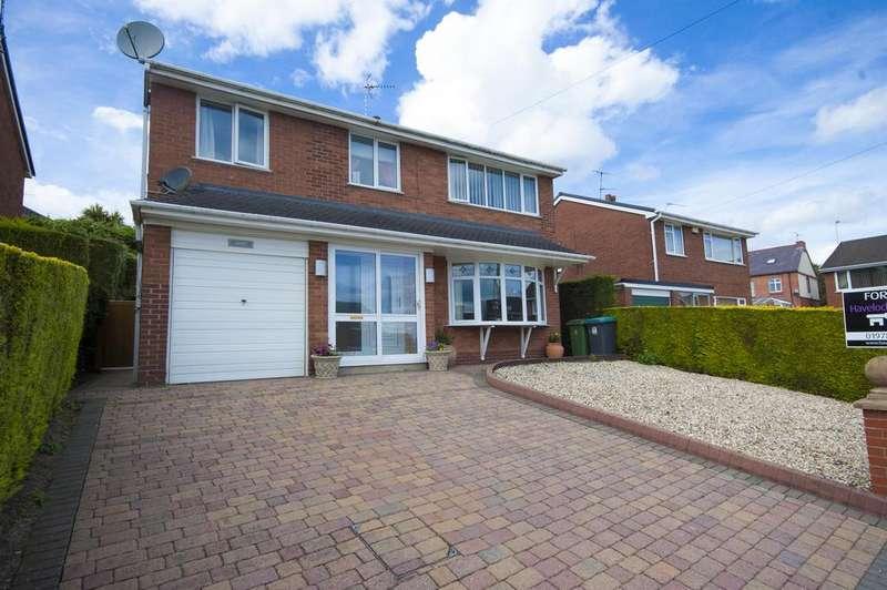 4 Bedrooms Detached House for sale in Windsor Road, Rhosllanerchrugog, Wrexham, LL14 1ST