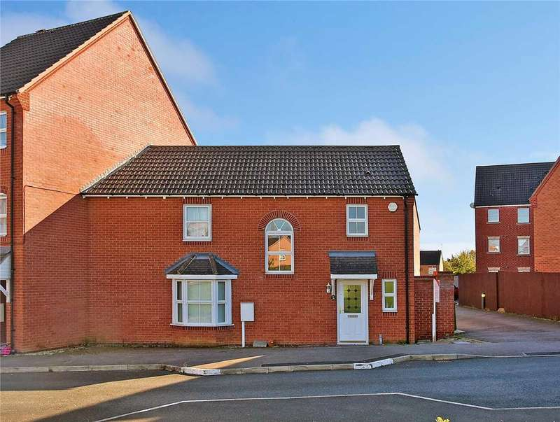 3 Bedrooms End Of Terrace House for sale in St Rochus Drive, Wellingborough, NN8 2QN