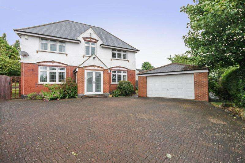 5 Bedrooms Detached House for sale in ALLESTREE LANE, ALLESTREE