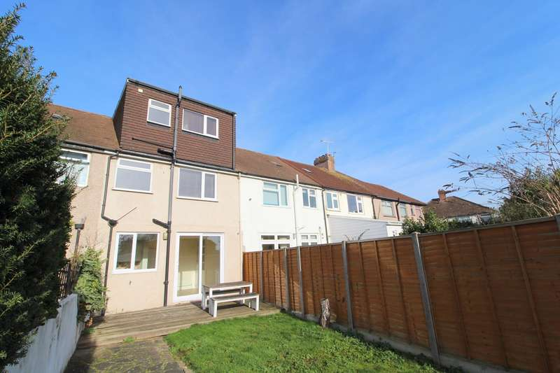 4 Bedrooms Terraced House for sale in Rosa Avenue, Ashford, Middlesex, TW15