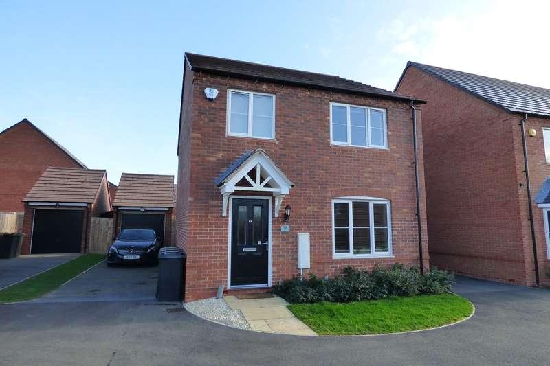 4 Bedrooms Detached House for sale in Lower Farm Way, Weddington, Nuneaton, CV10