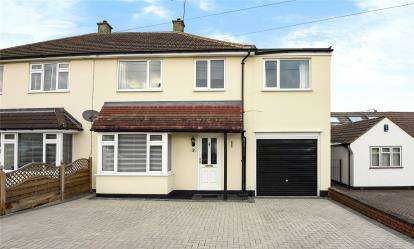 4 Bedrooms Semi Detached House for sale in Mansfield Close, Orpington