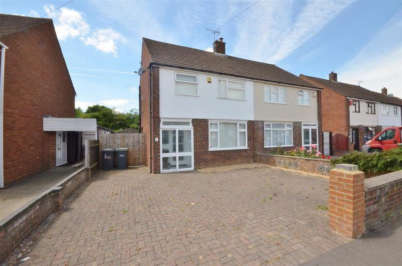 3 Bedrooms Semi Detached House for sale in Hart Lane, Luton