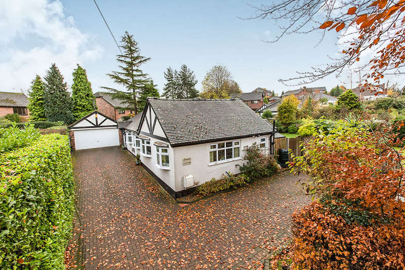 3 Bedrooms Detached Bungalow for sale in Newcastle Road, Congleton, CW12