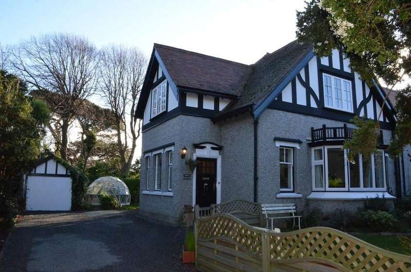 4 Bedrooms Semi Detached House for sale in Shan Vallah, The Colony, Church Road, Maughold, IM7 1AL
