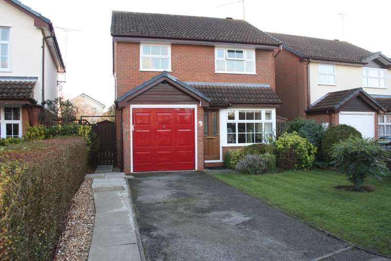 3 Bedrooms Detached House for sale in Tiger Close, Woodley, Reading, RG5