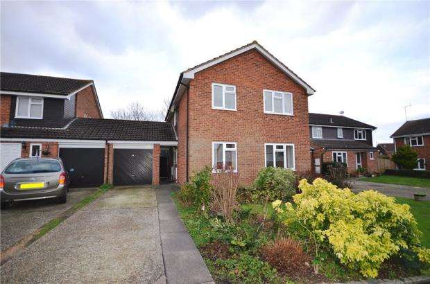 4 Bedrooms Detached House for sale in Caraway Road, Earley, Reading