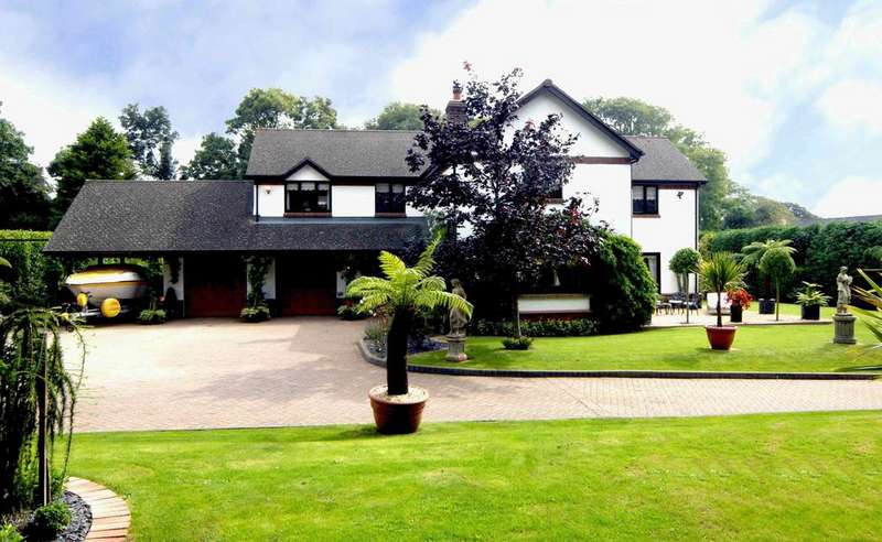 4 Bedrooms Detached House for sale in Domicilia, Cosheston, Pembrokeshire