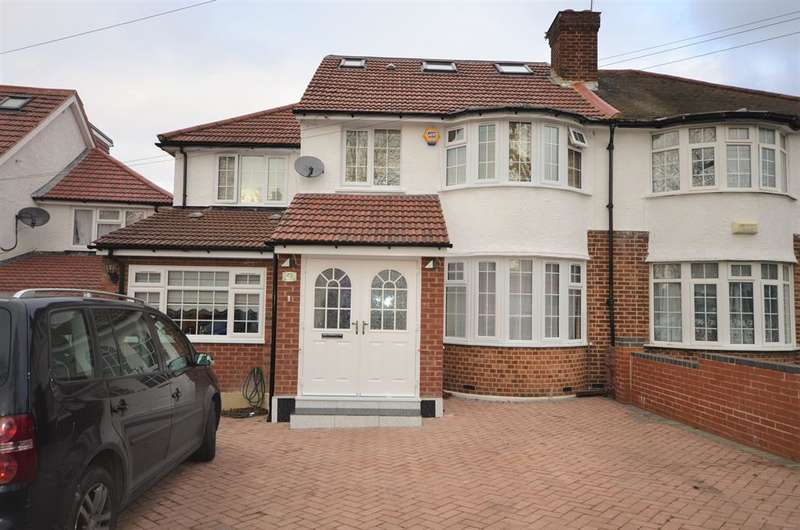 6 Bedrooms Semi Detached House for sale in Wentworth Hill, Wembley, Middlesex, HA9 9SF