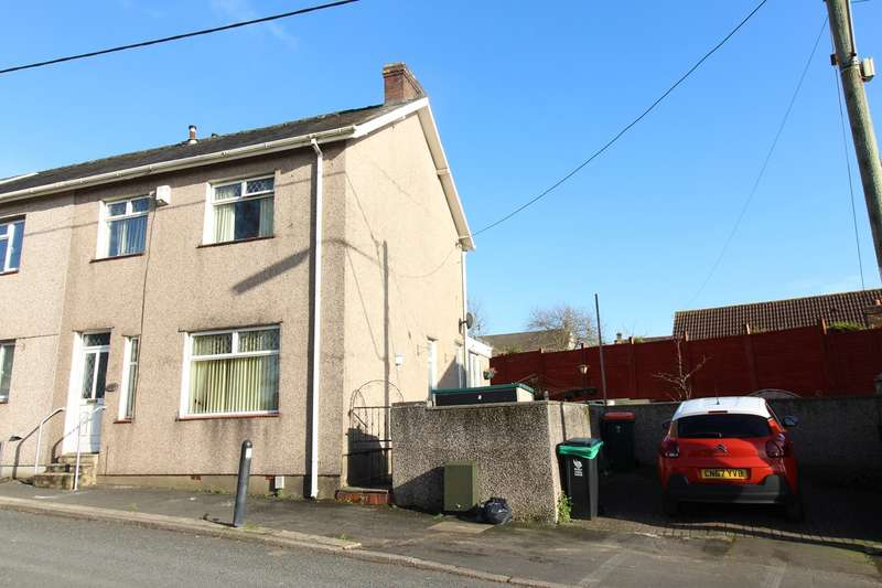 3 Bedrooms End Of Terrace House for sale in St Johns Crescent, Rogerstone, Newport, NP10