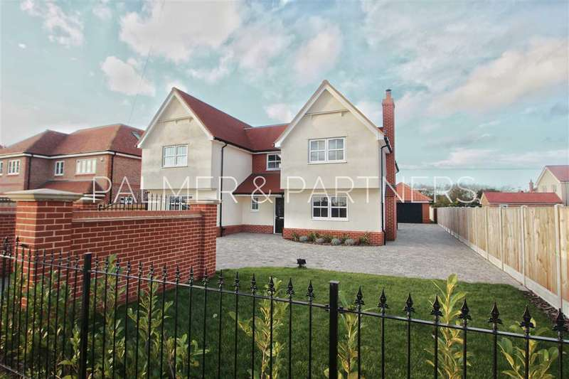 5 Bedrooms Detached House for sale in Dawnilly, Colchester Road, Great Bromley, Colchester