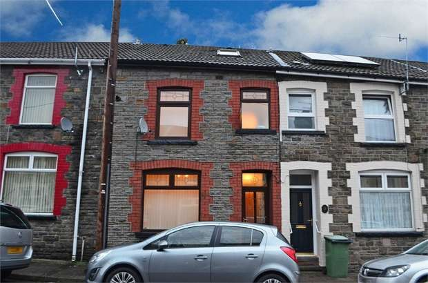 3 Bedrooms Terraced House for sale in Arnold Street, Mountain Ash, Mid Glamorgan