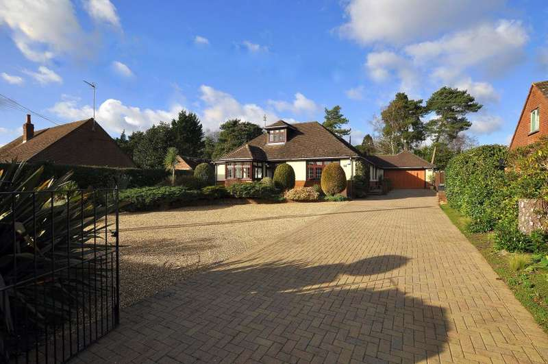 4 Bedrooms Detached Bungalow for sale in Sandy Lane, St Ives, Ringwood, BH24 2LQ