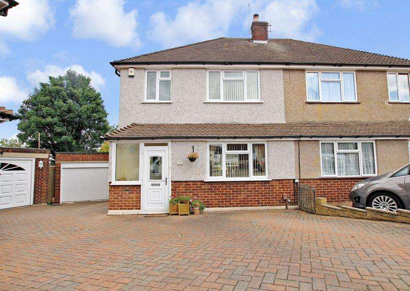 3 Bedrooms Semi Detached House for sale in Eardemont Close, Crayford