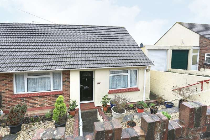 2 Bedrooms Semi Detached Bungalow for sale in Plymstock, Plymouth