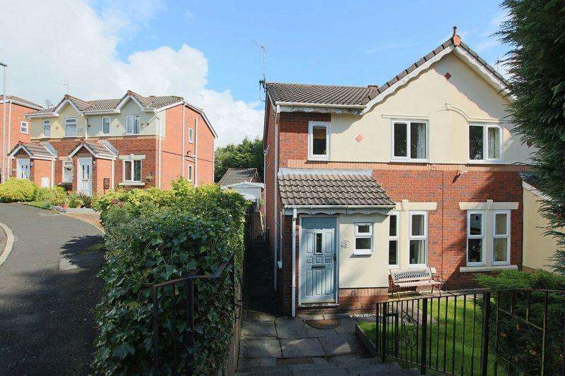 3 Bedrooms Semi Detached House for sale in Coppingford Close, Norden, Rochdale OL12 7PR