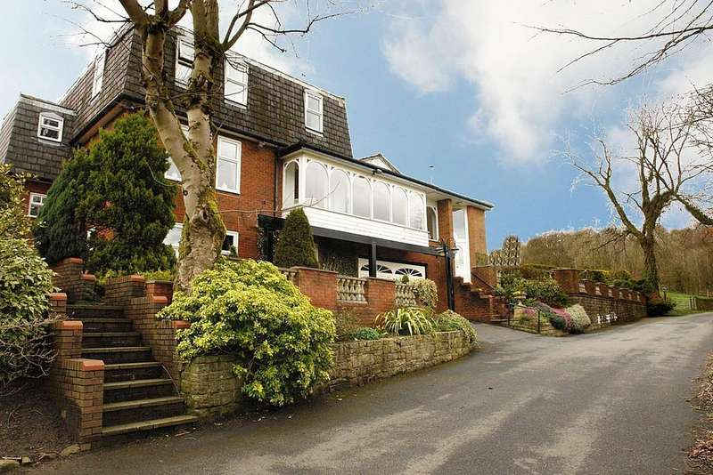 5 Bedrooms Detached House for sale in Arbour Lodge Ryefields Drive, Uppermill, Saddleworth