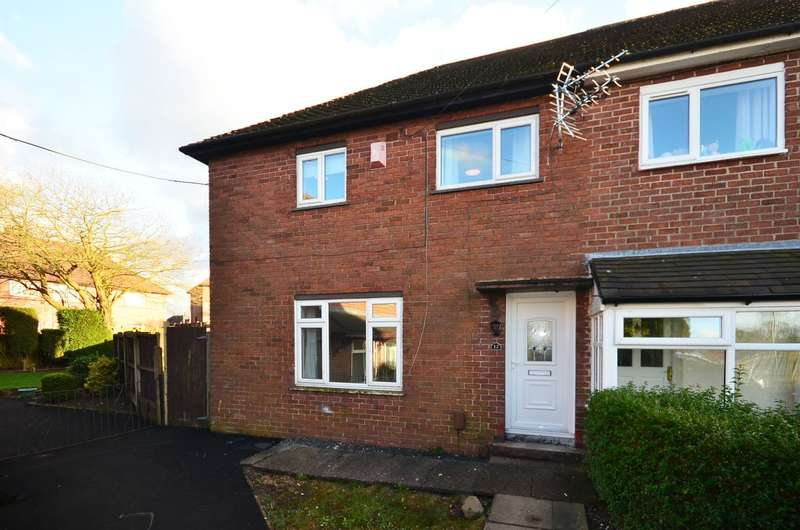 3 Bedrooms Semi Detached House for rent in Spalding Place, Bentilee, ST2 0QR