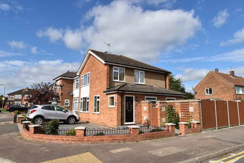 3 Bedrooms Semi Detached House for sale in Moland Way, Cheshunt EN8
