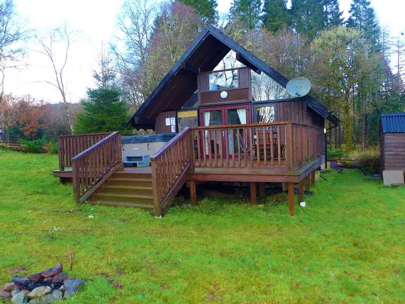 3 Bedrooms Chalet House for sale in 22 Iona Chalet , Dalavich, Taynuilt, PA35 1HN