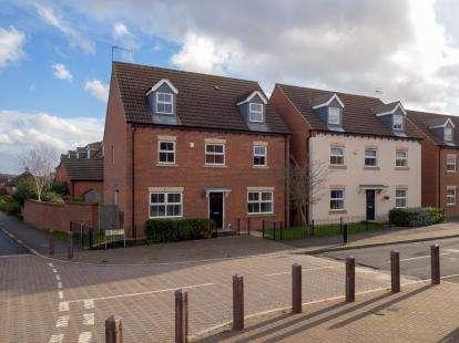 4 Bedrooms Detached House for sale in Ryknield Road, Hucknall, Nottingham, Nottinghamshire