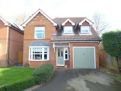 4 Bedrooms Detached House for sale in Schofield Road, Oakham, Rutland