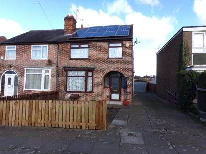 3 Bedrooms Semi Detached House for sale in Crown Hills Avenue, Crown Hills, Leicester, Leicestershire