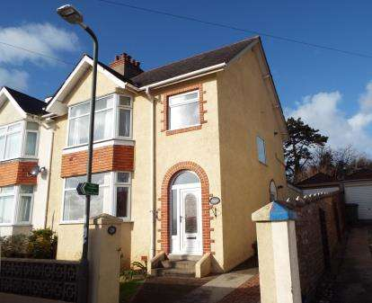 3 Bedrooms Semi Detached House for sale in Torquay, Devon
