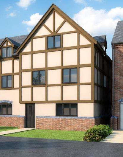 5 Bedrooms End Of Terrace House for sale in Milford Green Court, Malkins Way, Shawbury Lane
