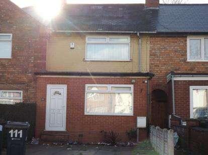 2 Bedrooms Terraced House for sale in Pelham Road, Ward End, Birmingham, West Midlands