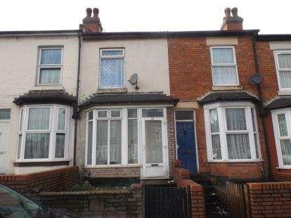 2 Bedrooms Terraced House for sale in Bordesley Green Road, Bordesley Green, Birmingham, West Midlands