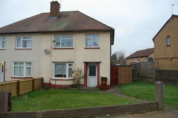 3 Bedrooms Semi Detached House for sale in Fullingdale Road, The Headlands, Northampton NN3 2QF