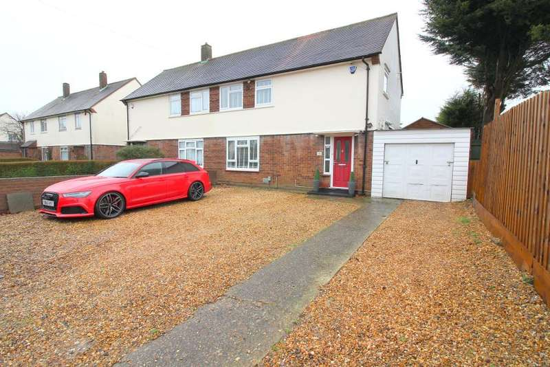 3 Bedrooms Semi Detached House for sale in Santingfield North, Luton, Bedfordshire, LU1 5LS