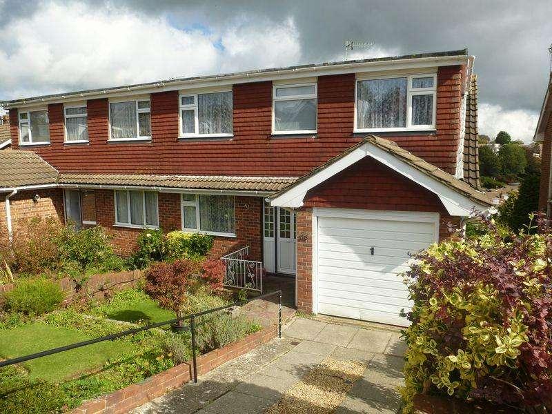 4 Bedrooms Semi Detached House for sale in Westdene Drive, Westdene, Brighton,