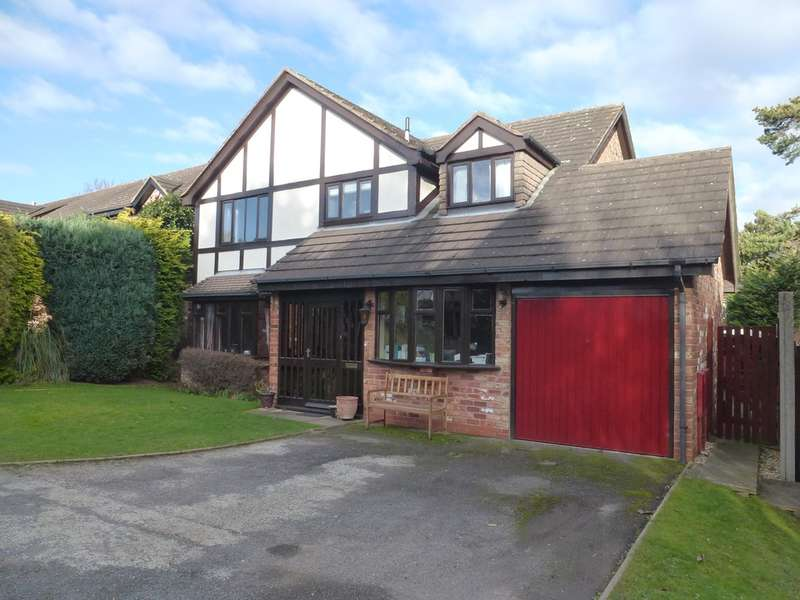 4 Bedrooms Detached House for sale in Cooks Drive, Castle Donington