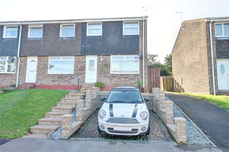 3 Bedrooms Terraced House for sale in Deerness Heights, Brandon, Durham, DH7