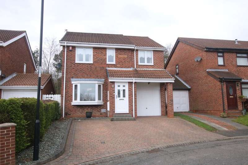 4 Bedrooms Detached House for sale in Blackcap Close, Ayton, Washington, NE38