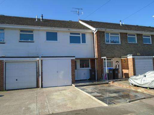 3 Bedrooms Terraced House for rent in Worthing Centre