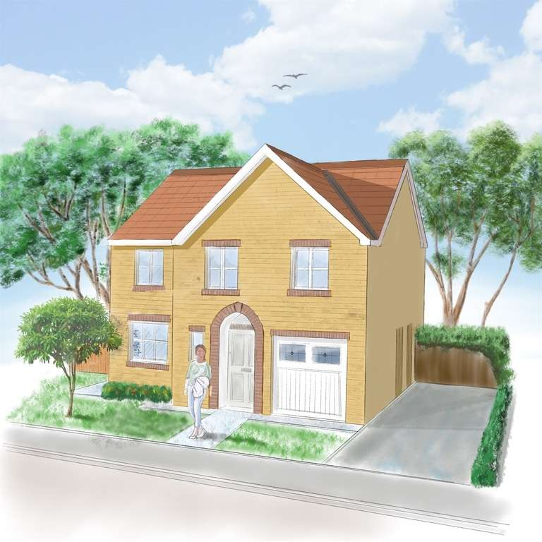 4 Bedrooms Detached House for sale in Clos Coed Derw, Penygroes, Llanelli