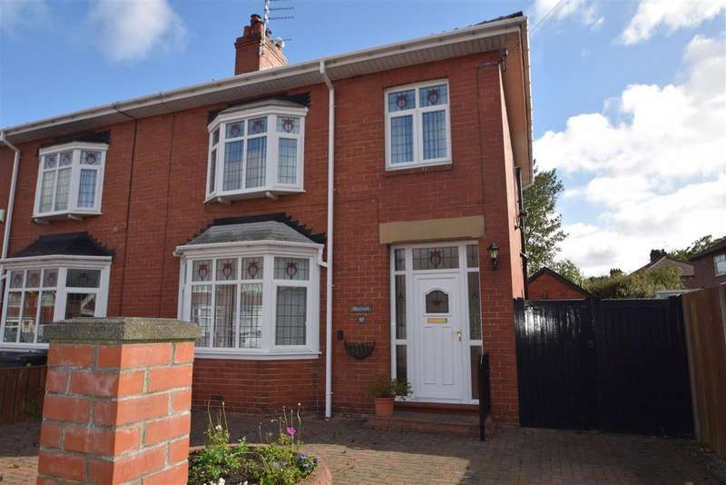 3 Bedrooms Semi Detached House for sale in Wembley Avenue, West Monkseaton