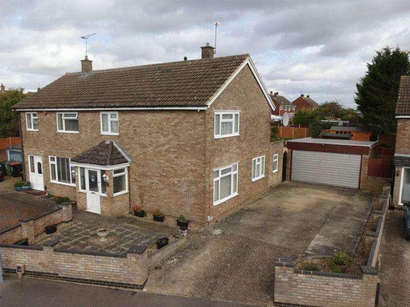 3 Bedrooms Semi Detached House for sale in Hillborough Crescent, Houghton Regis