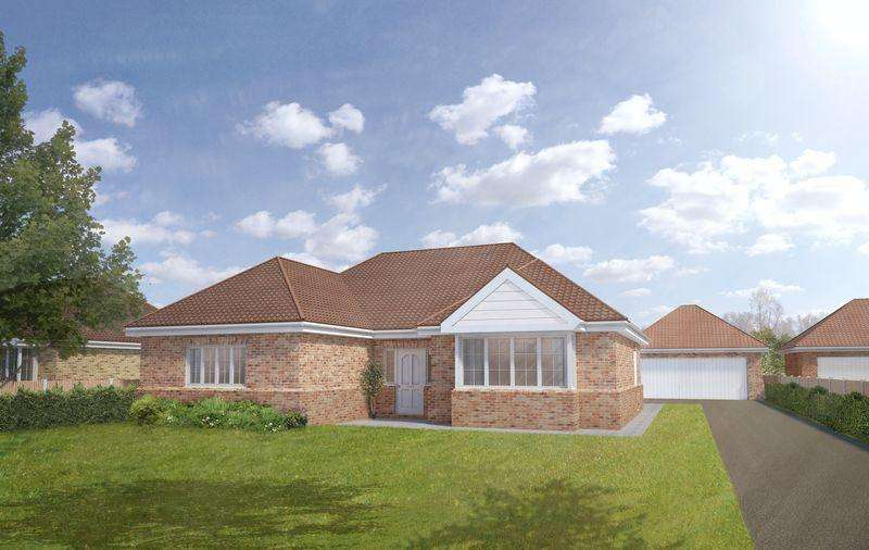 3 Bedrooms Detached Bungalow for sale in Plot 6, The Larch, Tower Drive, Woodhall Spa