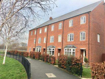 3 Bedrooms End Of Terrace House for sale in Stryd Y Wennol, Ruthin, Denbighshire, LL15