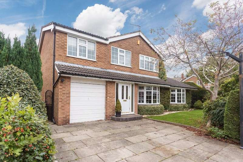 4 Bedrooms Detached House for sale in Bosley Drive, Poynton