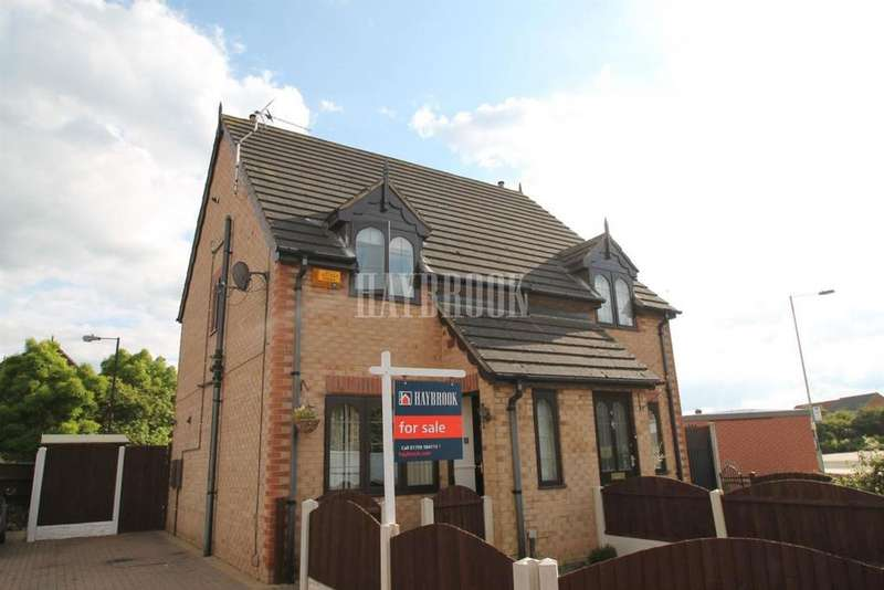 2 Bedrooms Semi Detached House for sale in Wildene Drive, Mexborough